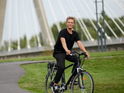 Jazda rowerem – dobry nowy nawyk. Podpowiemy Ci, jakgowyrobić!